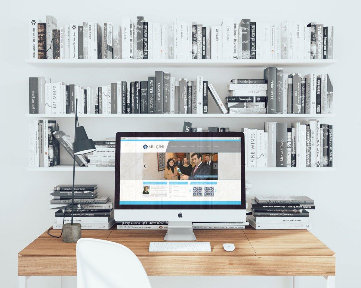 Arı çini kurumsal web sayfası - Vedat ŞEKER