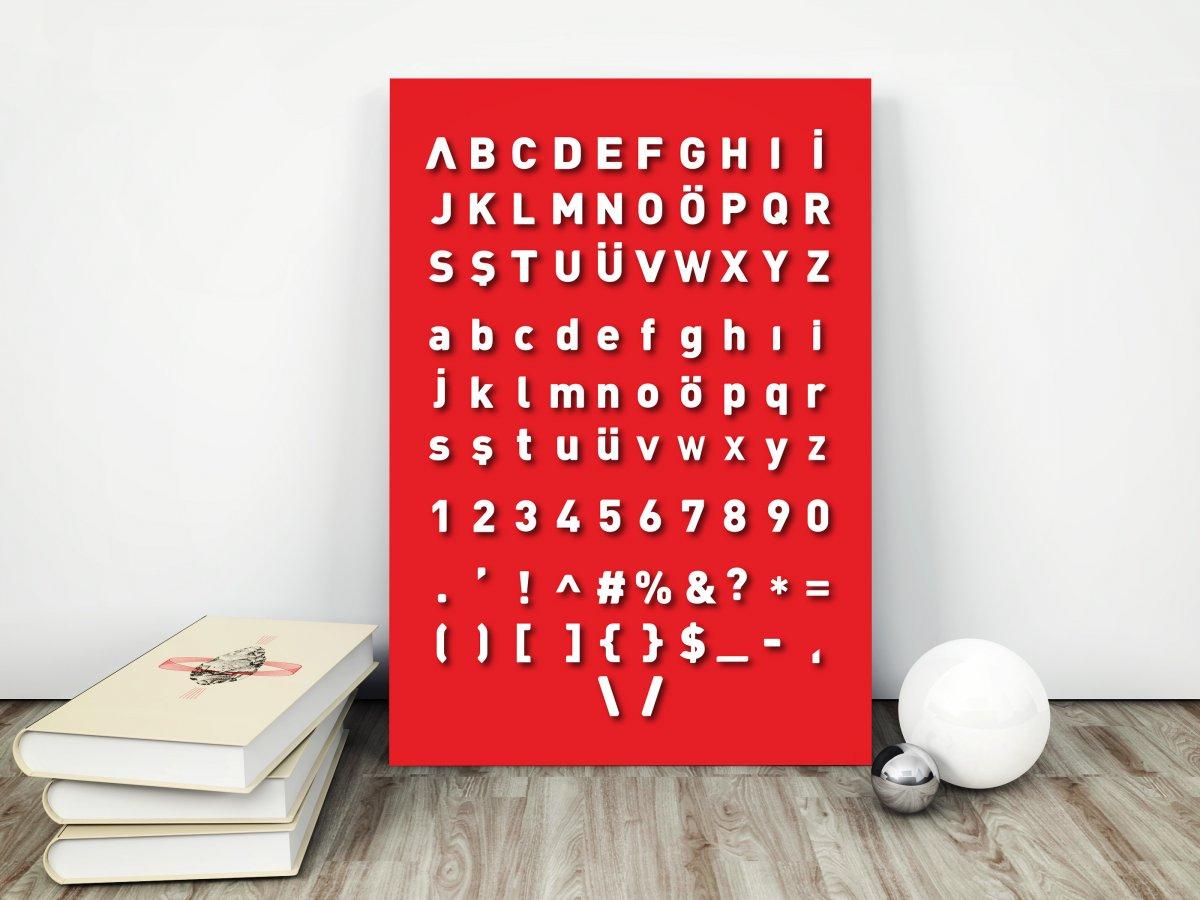 Artos font tasarımı - Vedat ŞEKER
