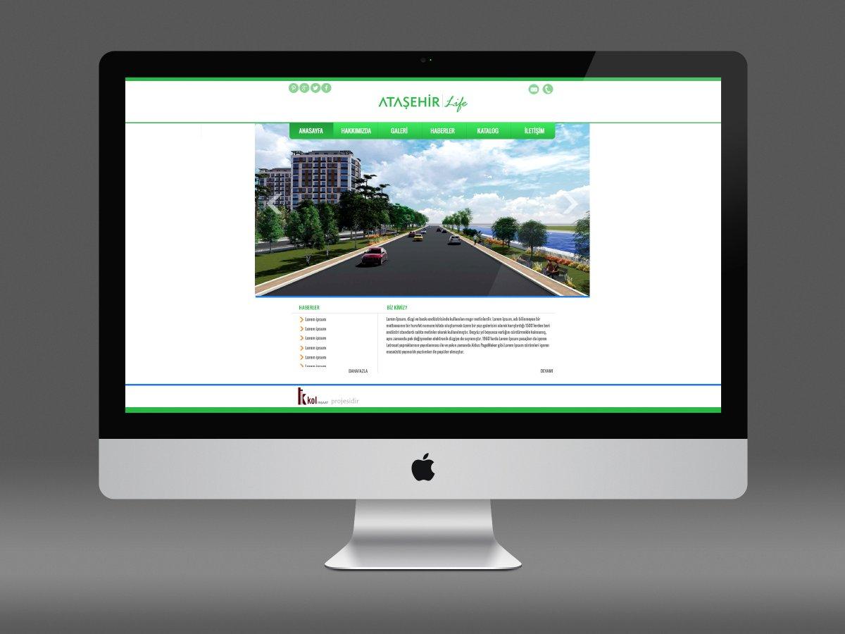 Amasya Ataşehir Life Proje sitesi | Vedat ŞEKER