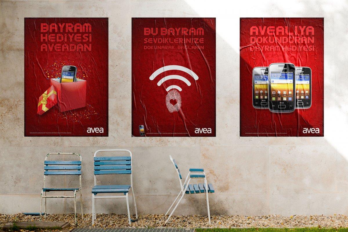 Avea broşür ve afiş tasarımları | Vedat ŞEKER