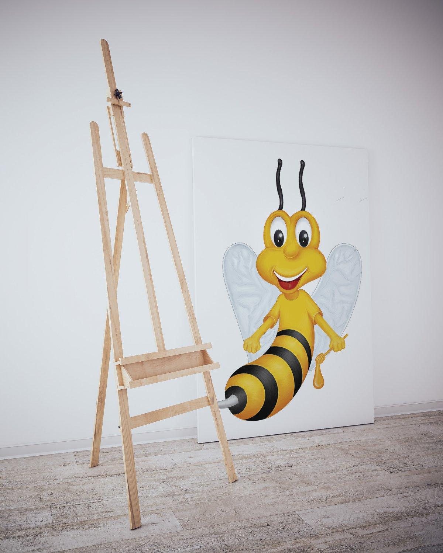 Balkovan bal illüstrasyon arı illüstrasyonu | Vedat ŞEKER
