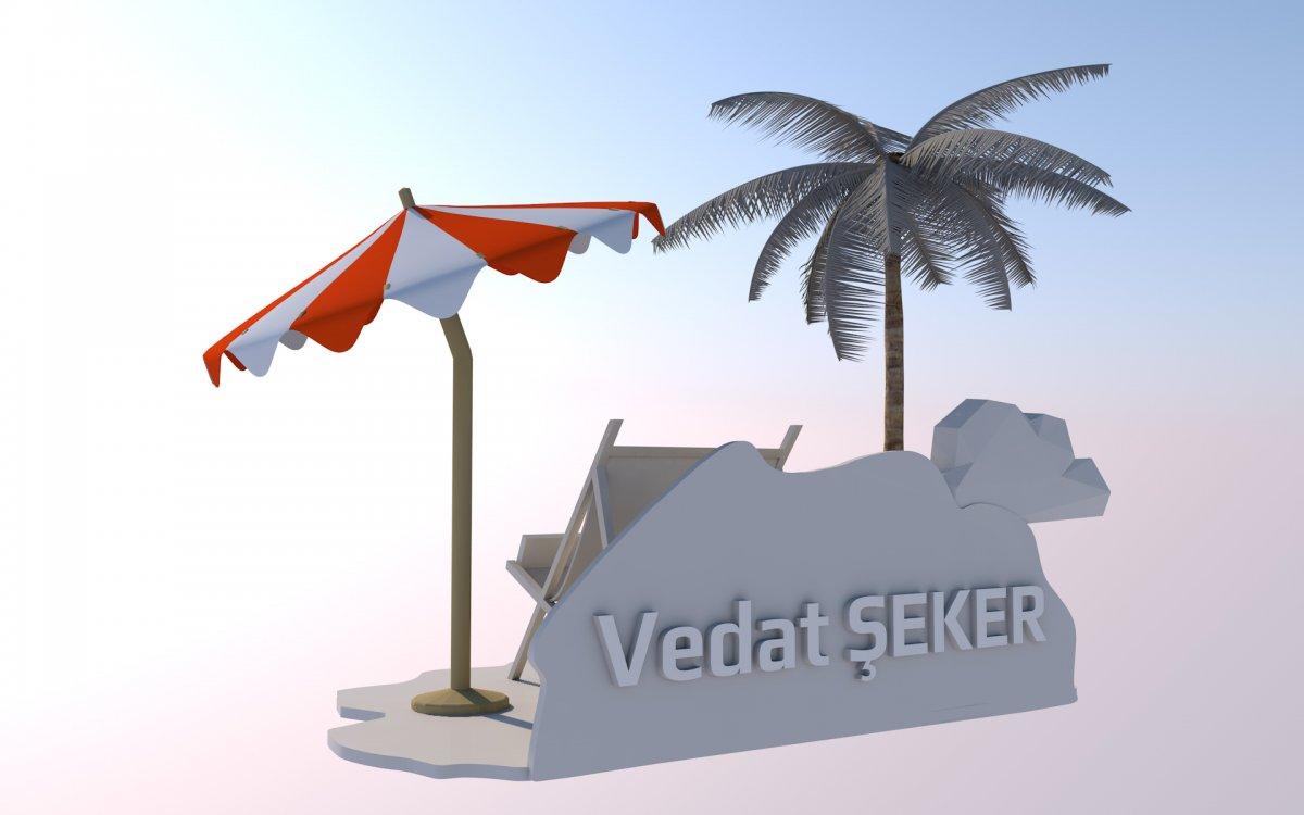 Kuartek proje tasarım endüstriyel tasarım ürünleri - kartvizitlik - Vedat ŞEKER