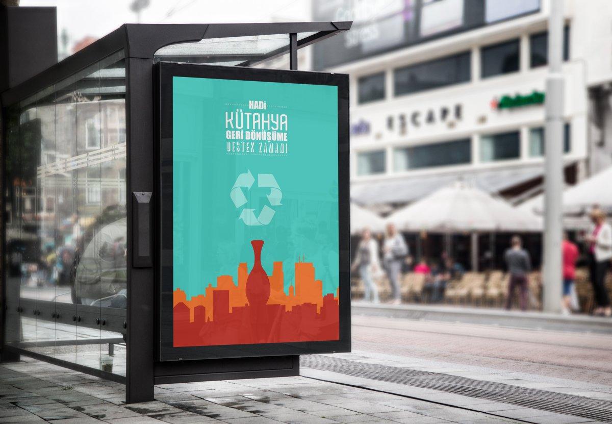 Kütahya Çevre Afişleri Yeşil Başkent   Vedat ŞEKER