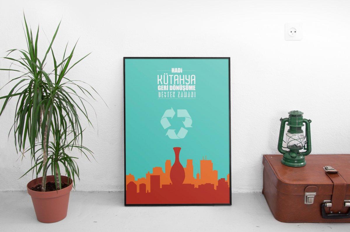 Kütahya Çevre Afişleri Yeşil Başkent | Vedat ŞEKER