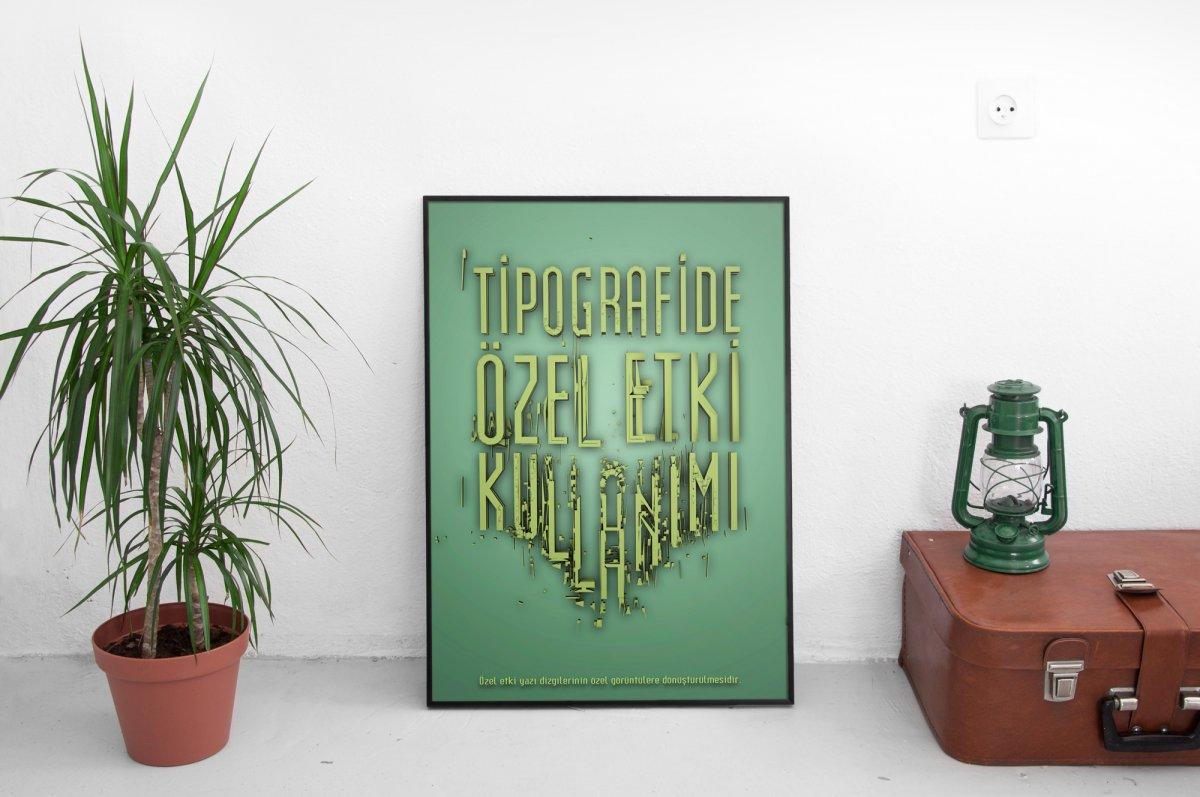 Cinema 4D 3D Tipografi | Vedat ŞEKER