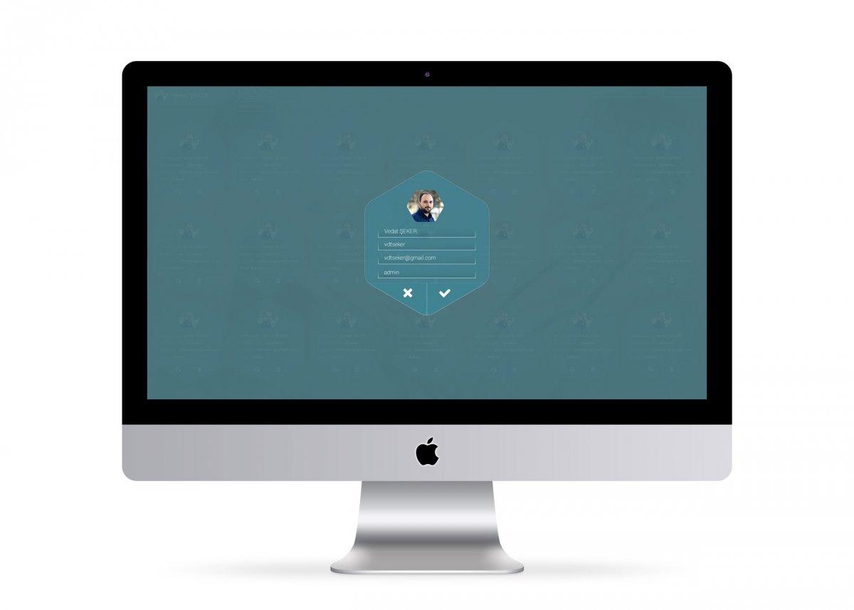 Sekoya Teknoloji Geliştirme simülasyon arayüz tasarımı   Vedat ŞEKER