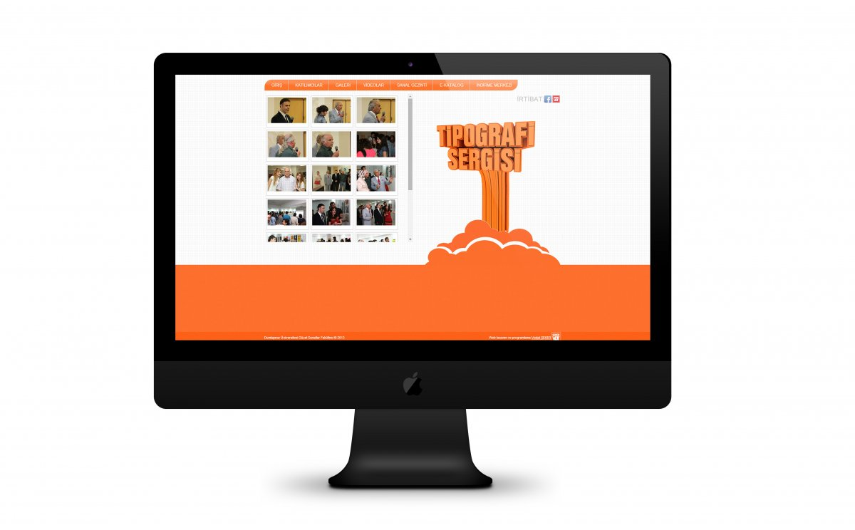 Tipografi sergisi etkinlik düzenleme kurulu   Vedat ŞEKER