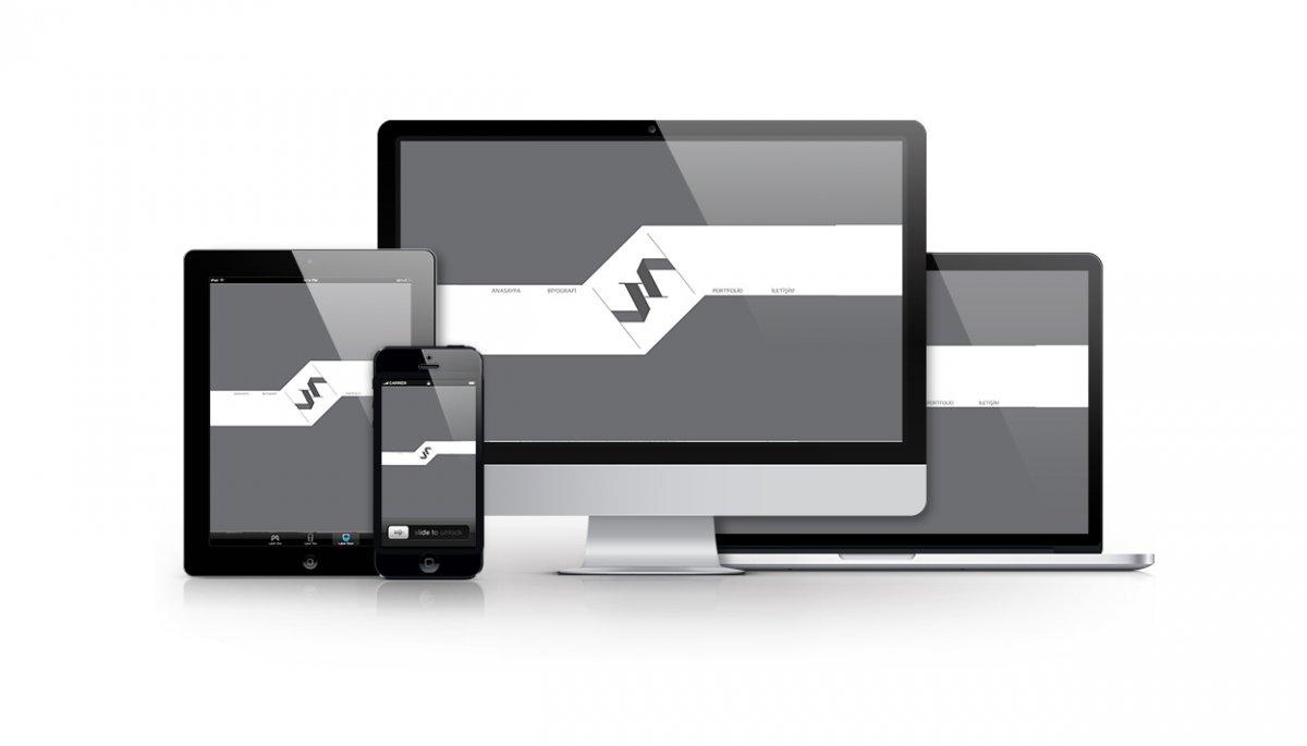 Vedat ŞEKER kişisel portfolyo sitesi, web site tasarımı, | Vedat ŞEKER